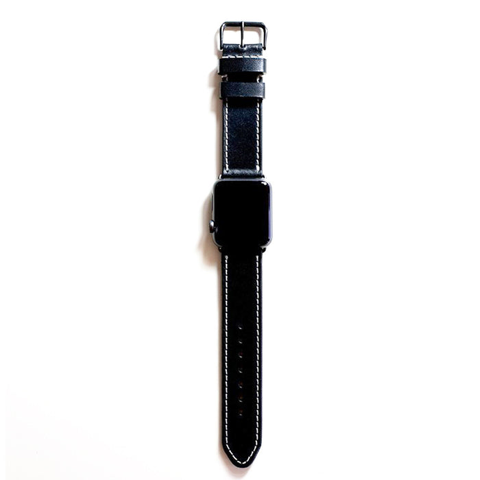 oplr. leather goods co. Black Apple Watch Band