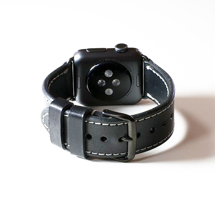 OleksynPrannyk Black Apple Watch Band