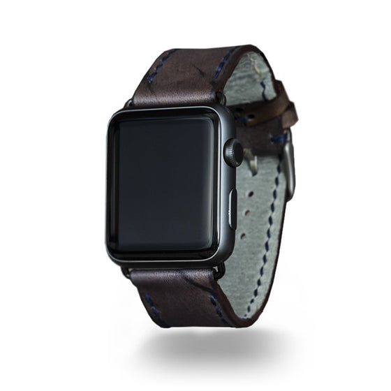 Strapley Leather Apple Watch Band in Rockwood