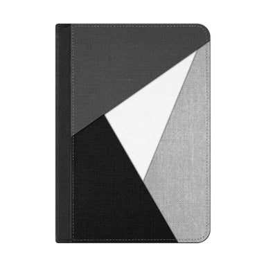 Casetify Black, White And Gray Tri-Cut Fabric iPad Case