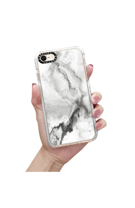 Casetify Military Grade iPhone Case for iPhone - White Marble