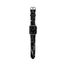 Casetify Saffiano Leather Apple Watch Band - Gigi Garden Florals - Black
