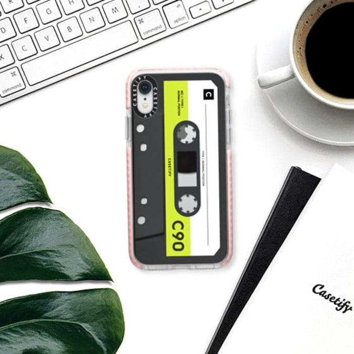 Casetify Mixtape Neon Remix Impact iPhone Case