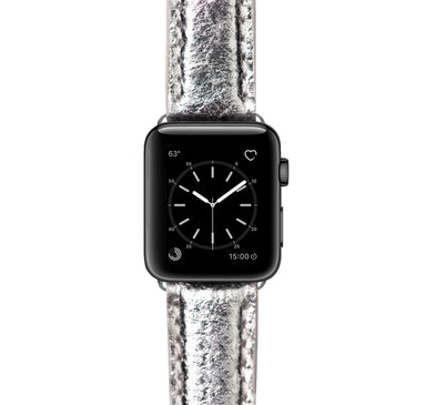 Mezando Apple Watch Band - Cheeky Silver