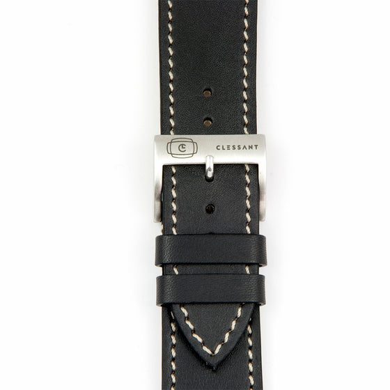 Clessant Black Barenia Apple Watch Band