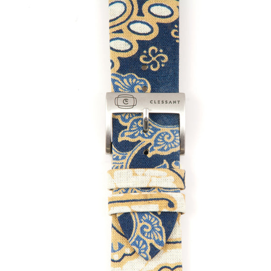Clessant Batik Apple Watch Band in Blue