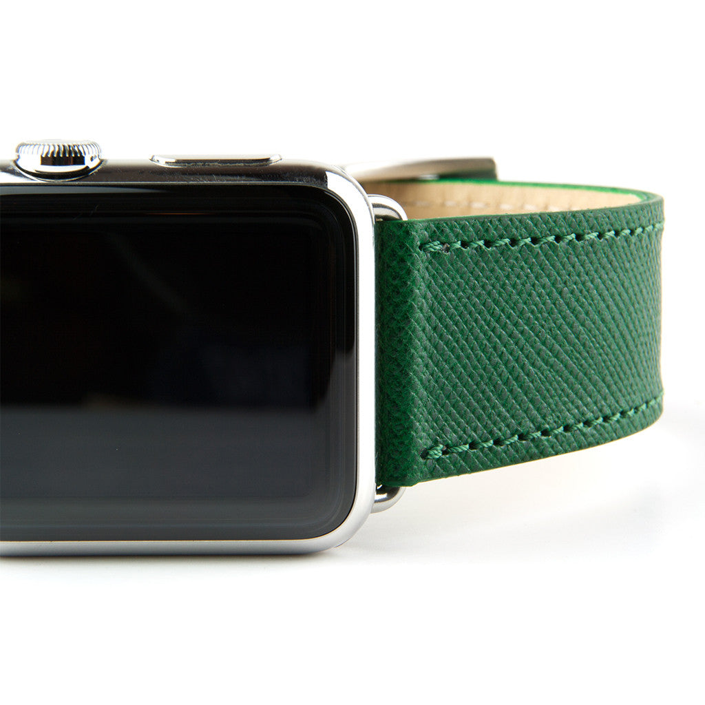 Clessant Russian Green Apple Watch Band - Cult of Mac Watch Store