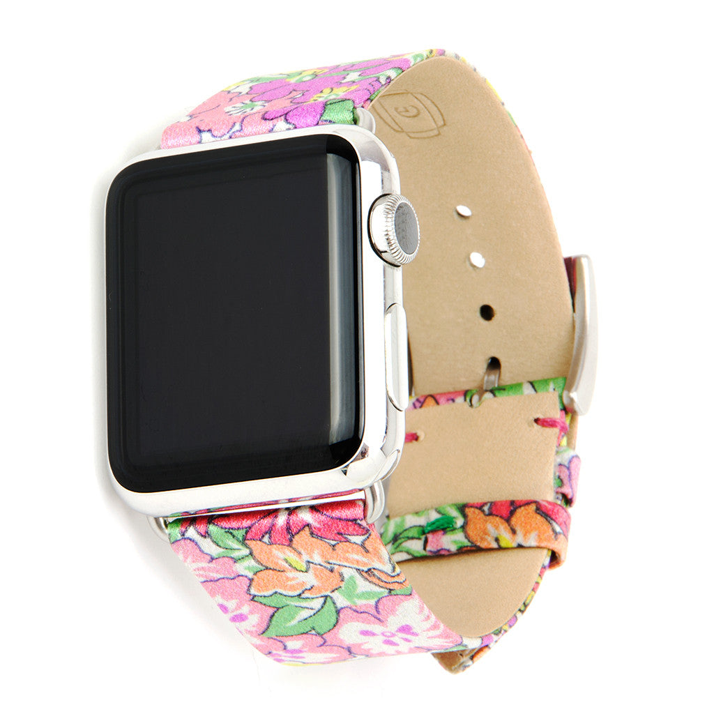 Clessant Liberty Fabric Silk Apple Watch Band - Cult of Mac Watch Store