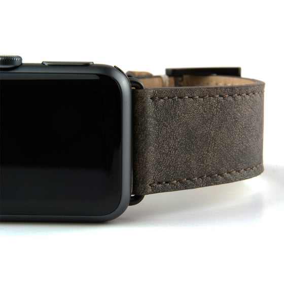 Clessant Patina Leather Apple Watch Band - Cult of Mac Watch Store