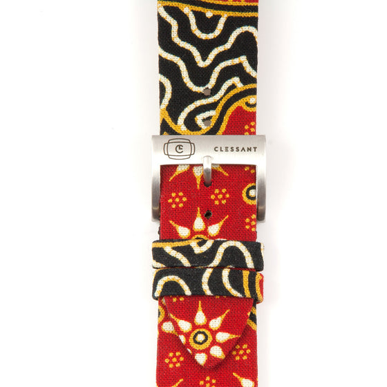 Clessant Batik Apple Watch Band in Red