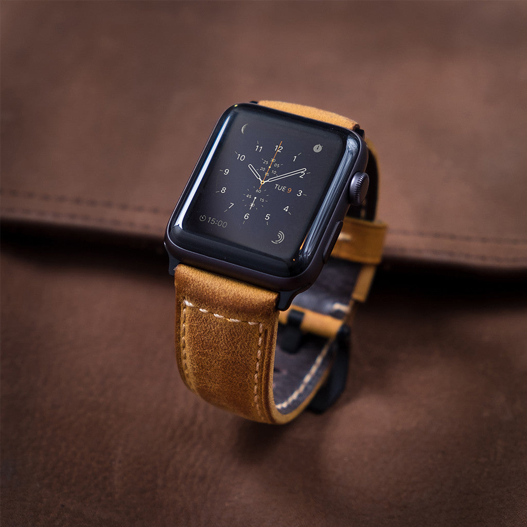 Strapple Confidens: Tan - Cult of Mac Watch Store