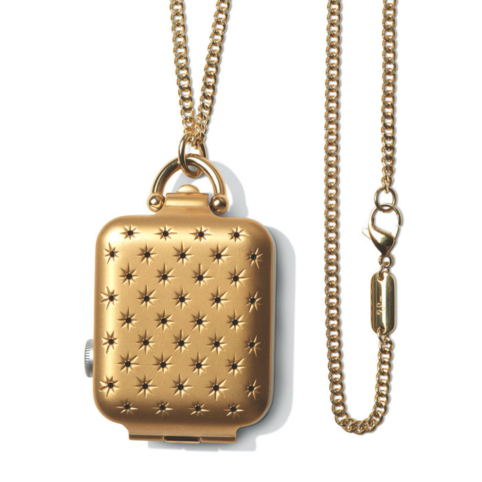 Bucardo Gold Constellation Locket - Cult of Mac Watch Store