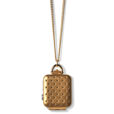 Bucardo Gold Constellation Locket