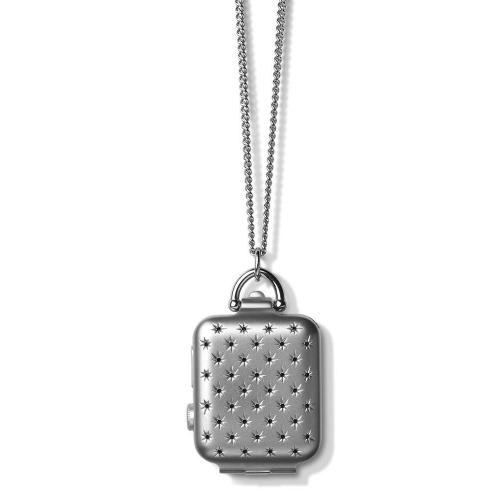Bucardo Silver Constellation Locket - Cult of Mac Watch Store