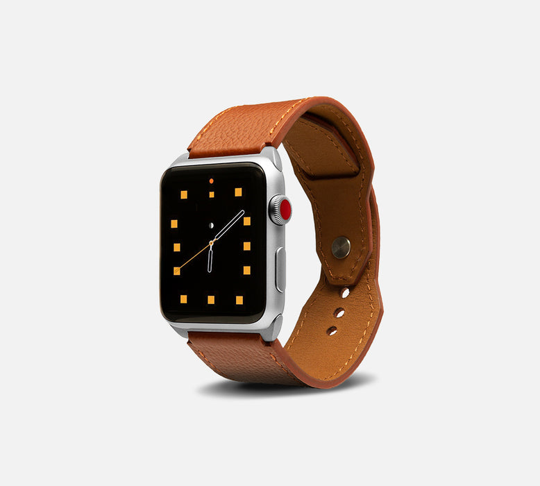 Monowear Contemporary Leather Apple Watch Cuff