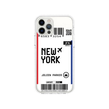 Limited77 'New York' Clear iPhone Case