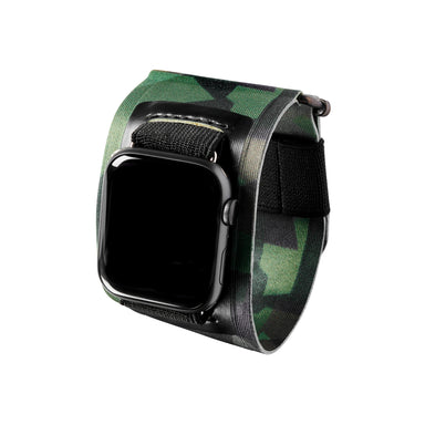 Bucardo Green Camo Sport Band
