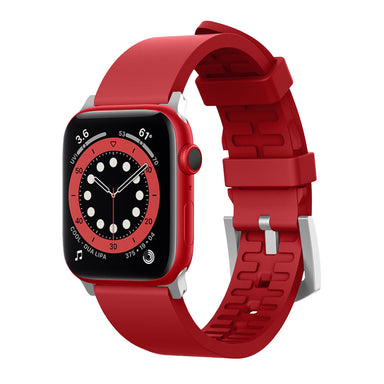 Elago Premium Apple Watch Band (Red)