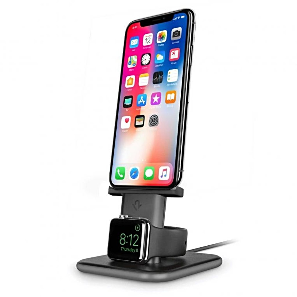 Twelve South HiRise Duet Charging Stand for Apple Watch and iPhone