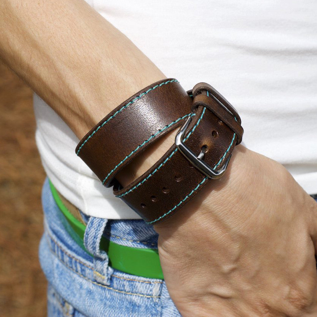 OleksynPrannyk Chestnut Double Tour Apple Watch Band
