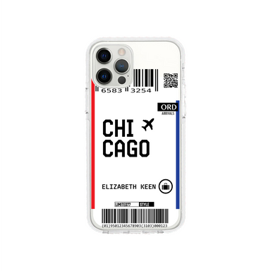 Limited77 'Chicago' Clear iPhone Case