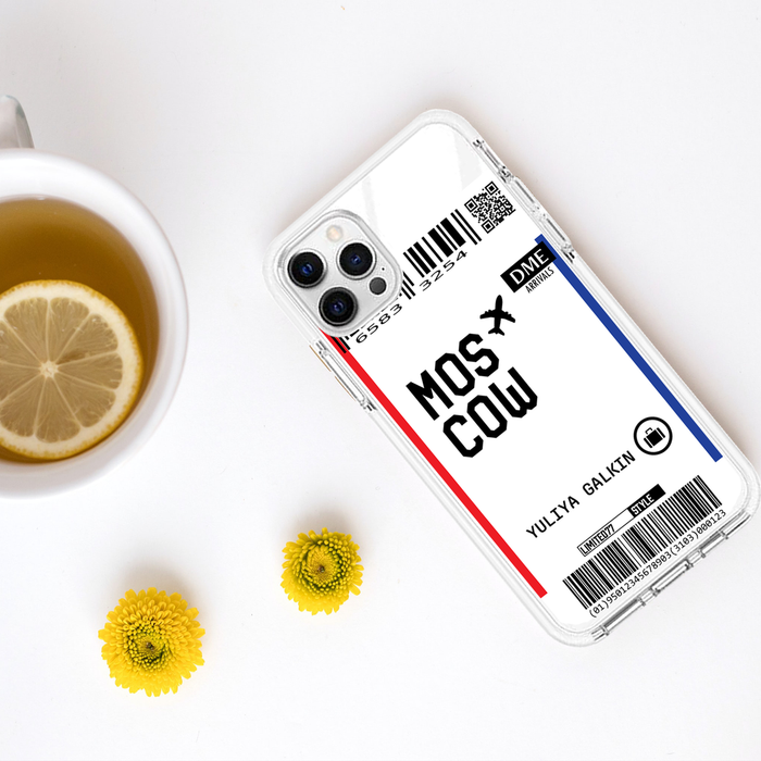 Limited77 'Moscow' Clear iPhone Case