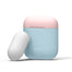 Elago AirPods Duo Case - Pastel Blue/Pink/White