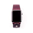 Form Function Form Burgundy Button-Stud Apple Watch Band 42/ 44 mm