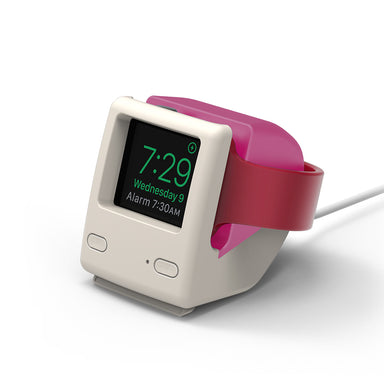 Elago W4 Apple Watch Stand - Aqua Pink