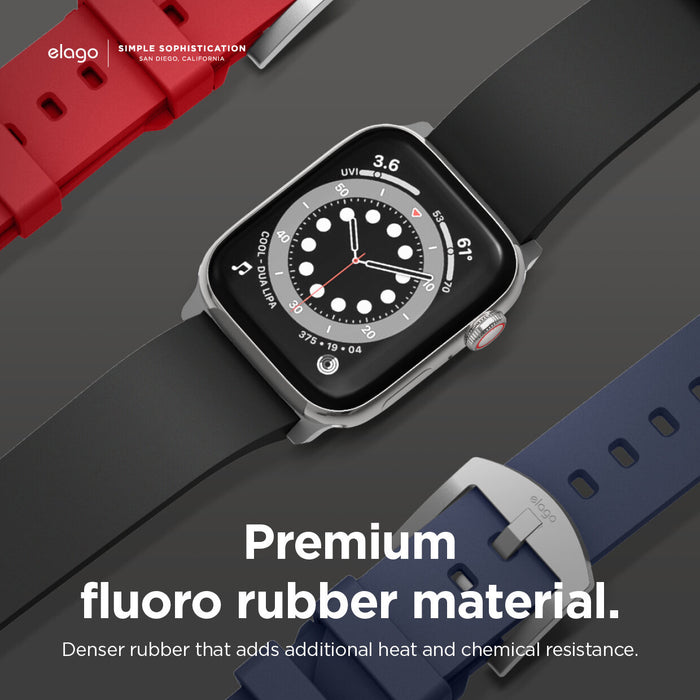 Elago Premium Apple Watch Band (Black)
