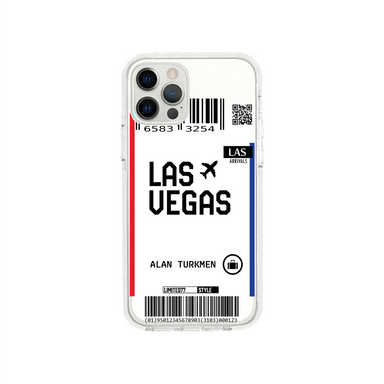 Limited77 'Las Vegas' Clear iPhone Case
