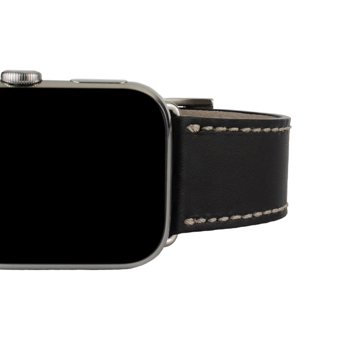 Clessant Black Isère Apple Watch Band