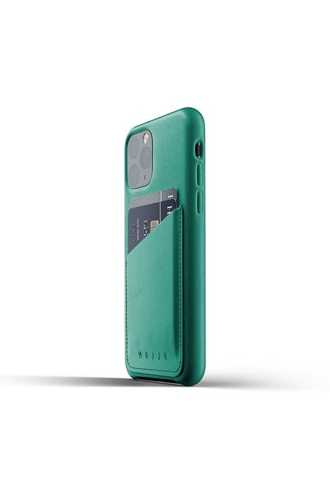 Mujjo Full Leather Wallet Case for iPhone 11 Pro