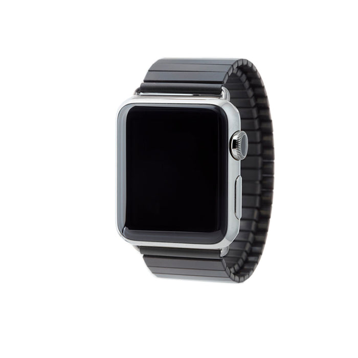Rilee & Lo Apple Watch Band Gunmetal 38 mm - Cult of Mac Watch Store