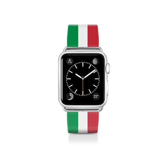 World Cup: Casetify Saffiano Leather Apple Watch Band Italy - Cult of Mac Watch Store
