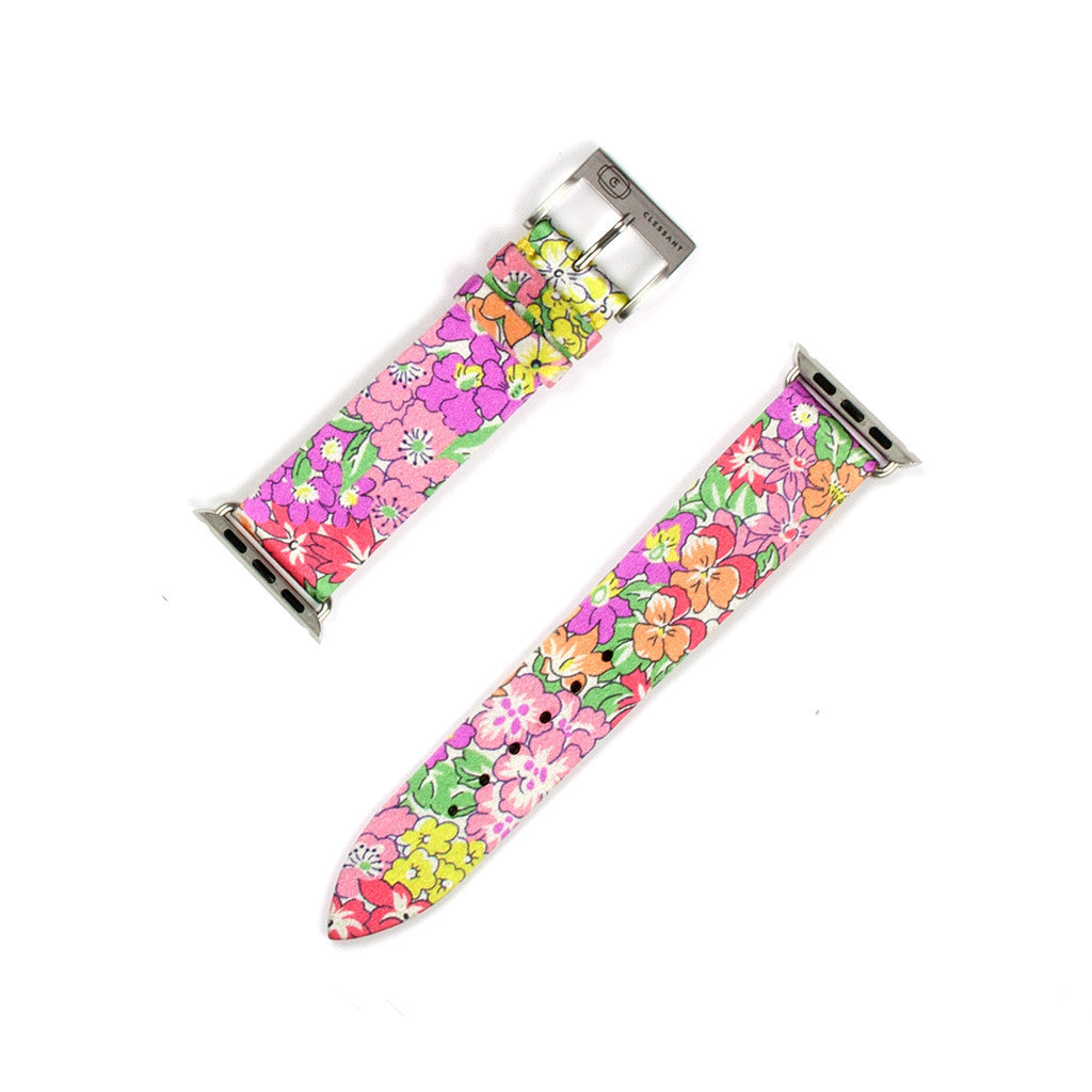 Clessant Liberty Fabric Silk Apple Watch Strap - Cult of Mac Watch Store