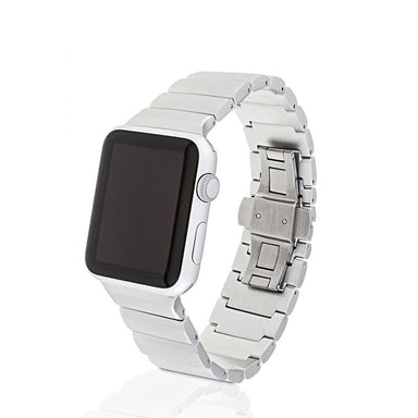 Juuk Ligero Silver Apple Watch Band - Cult of Mac Watch Store