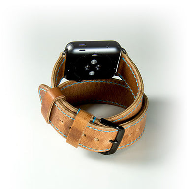 OleksynPrannyk Natural Double Tour Apple Watch Band - Cult of Mac Watch Store