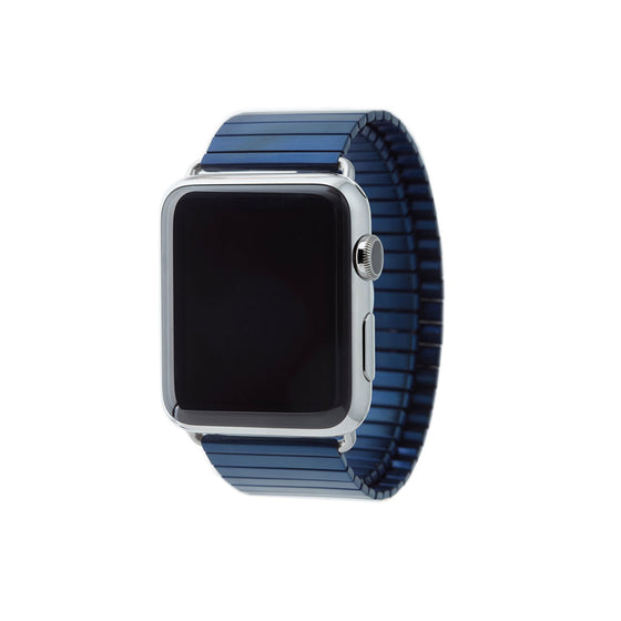 Rilee & Lo Apple Watch Band Navy 42 mm - Cult of Mac Watch Store
