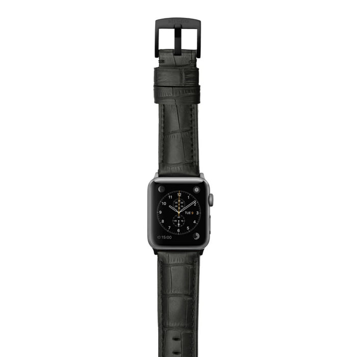 Strapa Crocodilus Apple Watch Band - Cult of Mac Watch Store