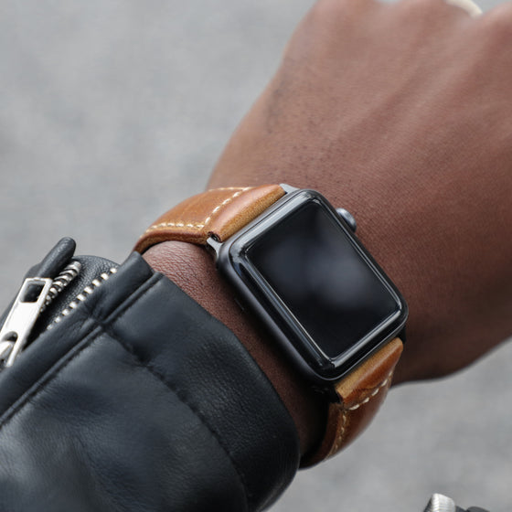 Strapa Confidens: Tan - Cult of Mac Watch Store