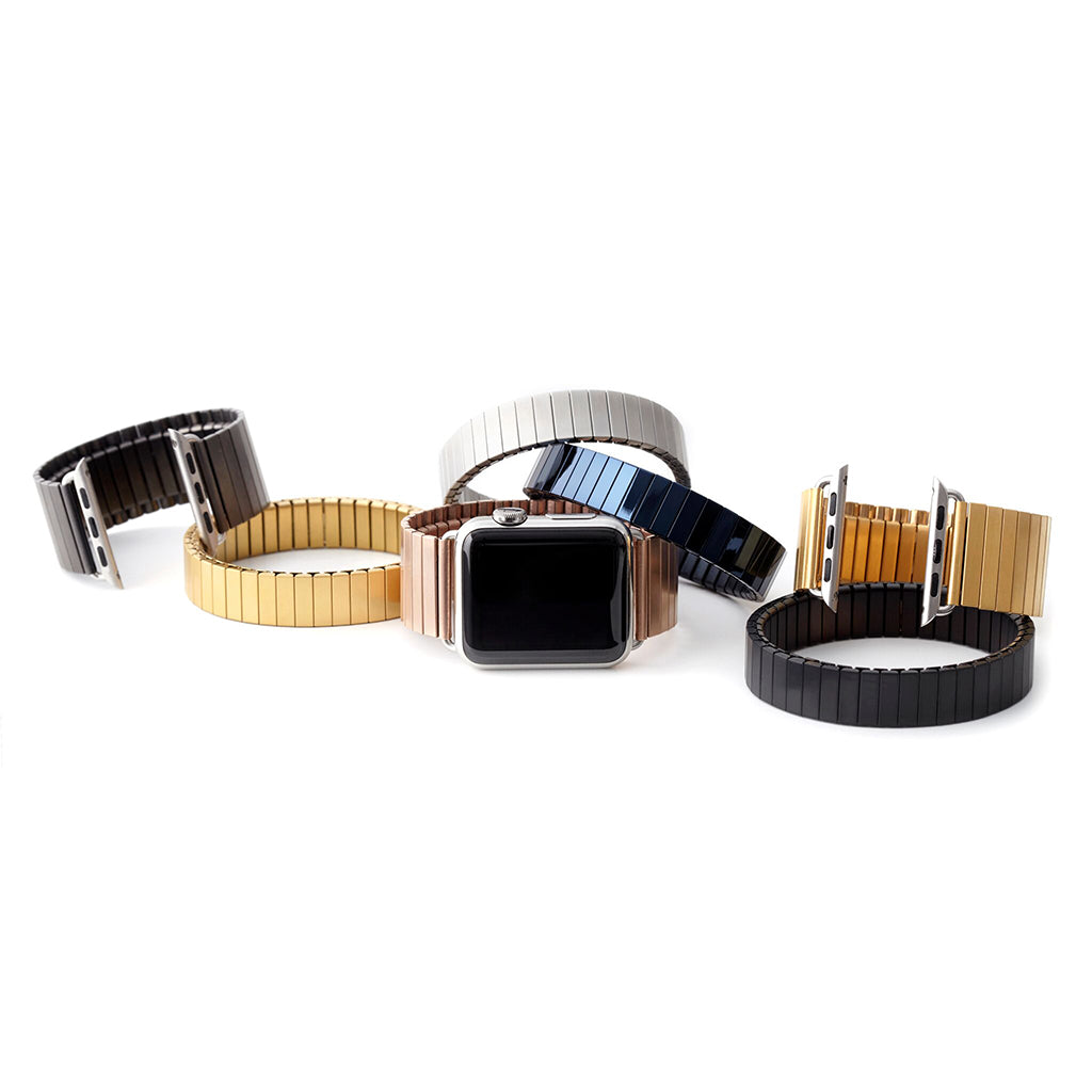 Rilee & Lo Satin Black Stacking Bracelet - Cult of Mac Watch Store