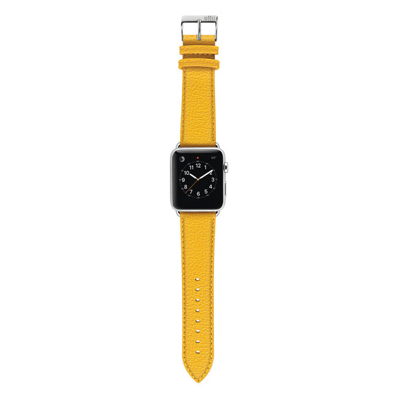 Ullu Premium Leather Apple Watch Band in Sun Ray