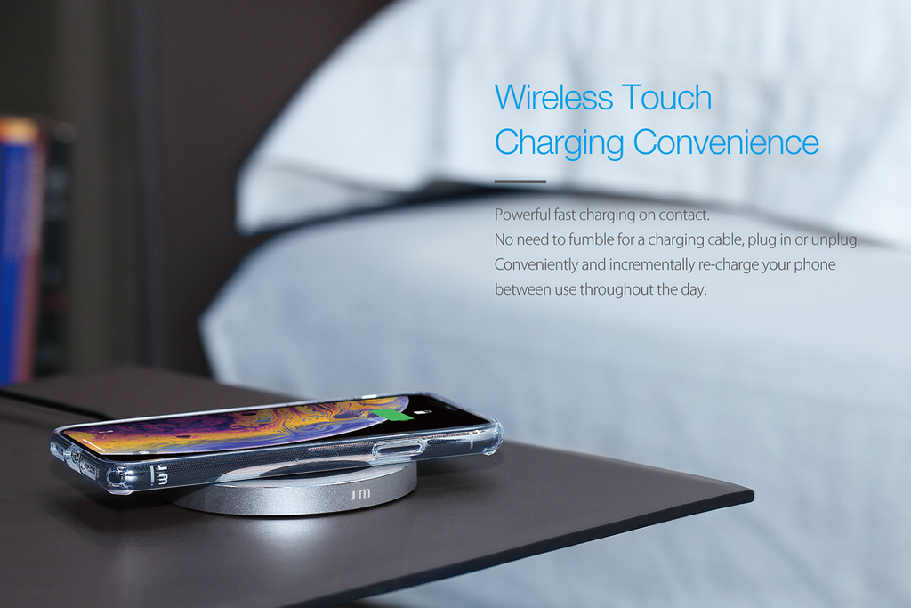 AluBase Wireless Charger convenience