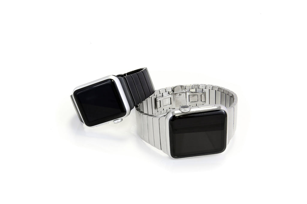 Wiplabs Link Apple Watch Bracelet in Silver - Cult of Mac Watch Store