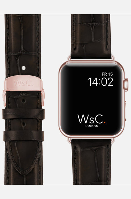 WsC Brown Prowler Leather Apple Watch Band