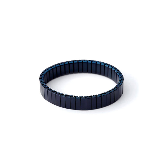 Rilee & Lo Satin Navy Stacking Bracelet - Cult of Mac Watch Store
