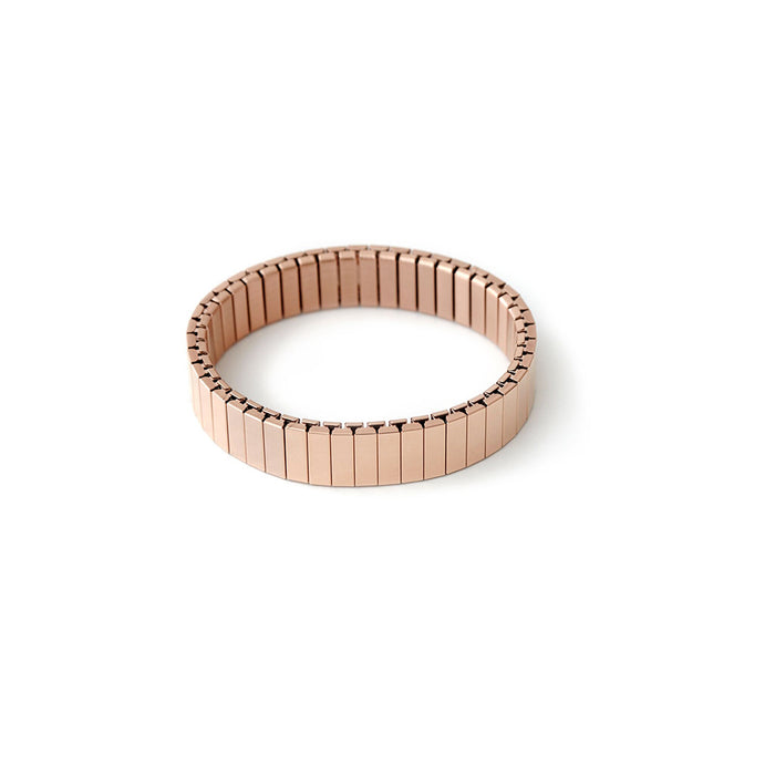 Rilee & Lo Shiny Rose Gold Stacking Bracelet - Cult of Mac Watch Store