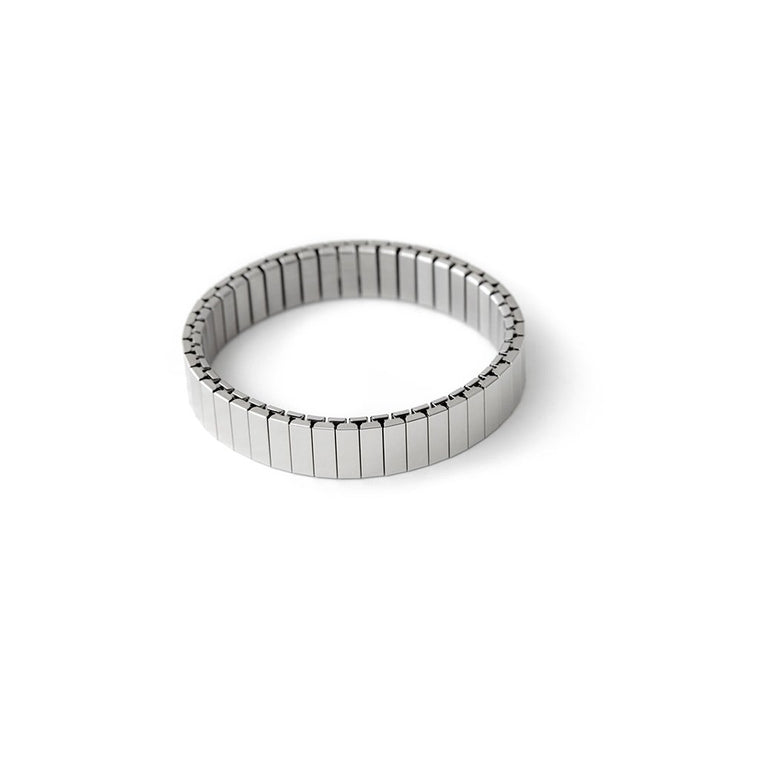 Rilee & Lo Shiny Silver Stacking Bracelet  - Cult of Mac Watch Store
