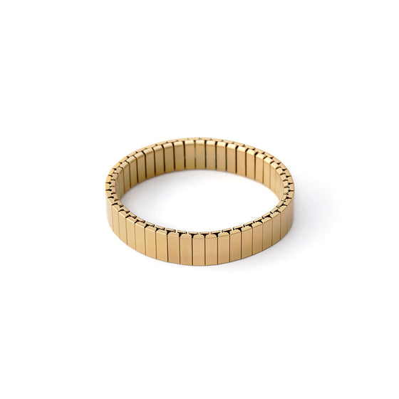 Rilee & Lo Satin Yellow Gold Stacking Bracelet - Cult of Mac Watch Store